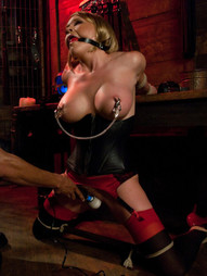 In this erotic fantasy role play, Krissy Lynn lives a double life. One as a wife who works long..