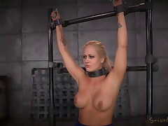 Shackled to a sybian