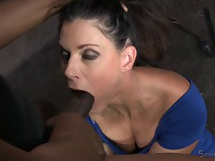 MILF gets bound and ragdoll fucked