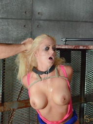 Sexy MILF caged and trained