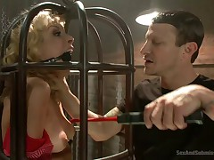 Caged Slut