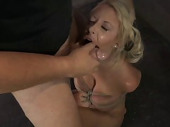 Blonde Beauty Goes Crazy For Cocks