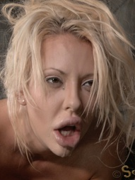 Tan, blonde and busty with giant blow job lips, Courtney Taylor is the perfect sex toy. Her tight..