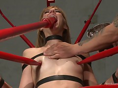 Anal Slut Submits to Rough Orgasm Treatment