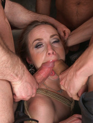 Queen pussy stuffed chock full of cock
