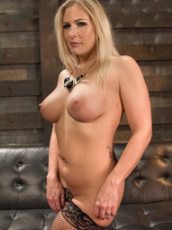 Delicious barmaid Angel Allwood is left horny and alone during her shift at the pub until several..