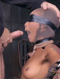 Part two of Skin Diamond's live BaRS show continues at a merciless pace. She has already been..