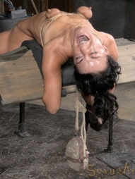 Throat Boarded on a Sybian