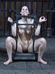 Marina finds herself chained to the floor of PDs play room, blinded by a hood and barely able to..