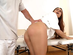 Leyla gets her ass spanked