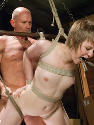 In this BDSM fantasy roleplay, a pervert daughter's dad catched his best daughter's girlfriend..