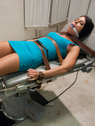 New BDSM newbie model Adrianna Chechik is sexually rehabilitated by Dr. Deen in this hot BDSM..