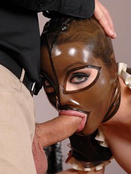 The versatile Latex Lucy has it both ways in this kinky roleplay encounter. She starts out..