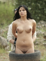Mia is always a pleasant partner to enjoy some free time. In the middle of beautiful nature, she..