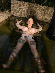 Be prepared for the truly bizarre as you watch a most inventively tattooed blonde newcomer to our..