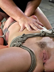 Mid Western girl Suffers Category 5 bondage