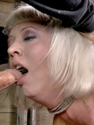 Hot BDSM blonde Cherry Torn can take big dicks and take it hard. There is very little left this..