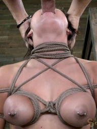 20 yr old Sofia Delgado is new to the industry and brand new to bondage. What she brings to the..