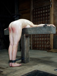 Noon on the final day of her week at the farm. She knows she will be caned today and she has never..