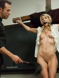 Amanda Tate gets in trouble for bullying a classmate and is punished by a strict priest. She is..