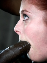 Penny takes on huge black cock