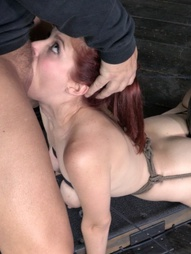 Tiny little red headed Penny Pax brings full natural breasts and a completely perverted mind to..
