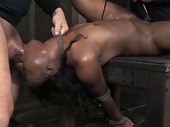 Chanell Heart Gets Tag Teamed