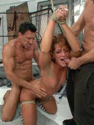 Sultry Savannah Fox is reduced to a wailing whore as she completely looses control to 5 guys and..
