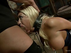 The Bombshell Bondage Slut