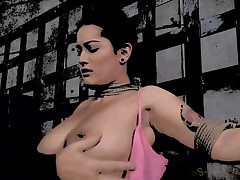 Bondage Newbie Has Her First Bondage Shoot