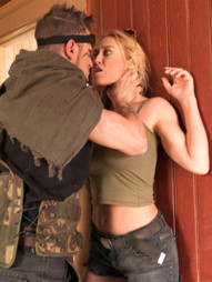 In a post apocalyptic future, Darling and Casey Calvert are captured by a savage hunter who..
