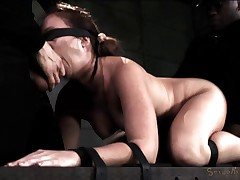 Bound and Facefucked