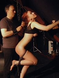 Harsh and ruthless treatment for an innocent young babe who experiences slave girl fate in bdsm..
