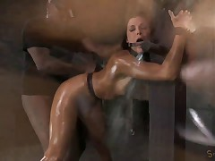Creampied on the Breeding Post